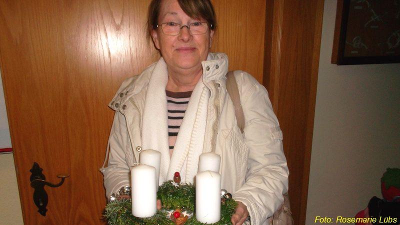 Adventsgestecke Basteln 2013