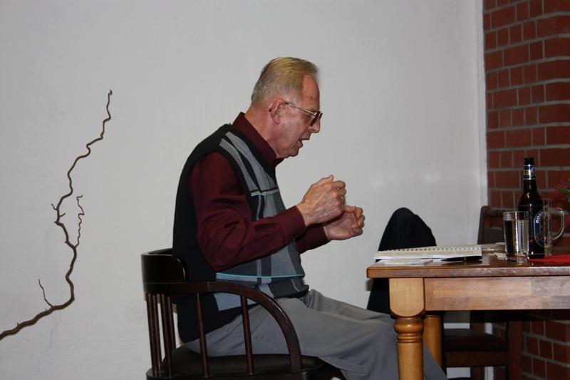 Buchlesung mit Prof. Dr. sc. Erich Dreyer