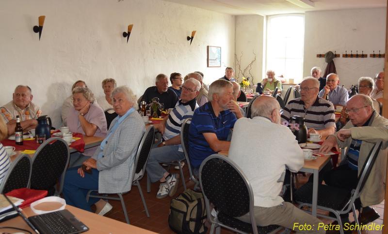 Präsentation der Gemeindechronik im Rahmen des Dorffestes 2012