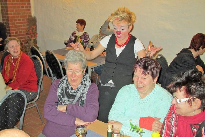 Frauentagsfeier am 10. März 2012 in der Bauernscheune, Foto T. Gärtner