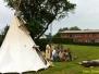 Indianer zu Gast in Reddelich im Juni 2013