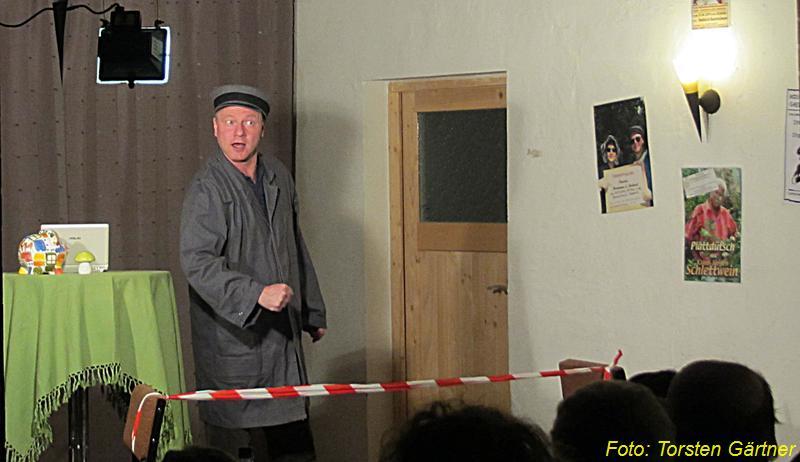 """Kabarett """"Marianne & Michael"""" im November 2012 in der Reddelicher Bauernscheune"""
