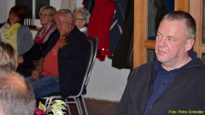 Kabarett mit Clemens Wachenschwanz in der Reddelicher Bauernscheune im September 2013