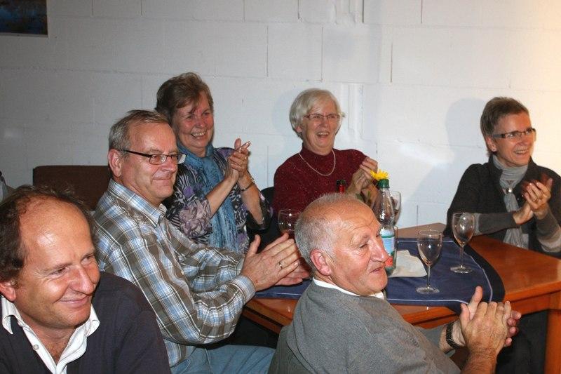 Kabarett ROSTOCKER GREIFVÖGEL im September 2010 in der Bauernscheune