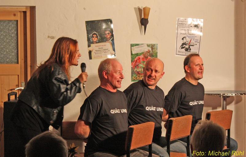Kabarett in der Reddelicher Bauernscheune 2012