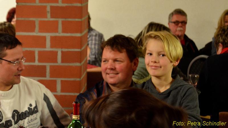 Kabarett in der Reddelicher Bauernscheune im Januar 2013, mit Solvio F. Witt