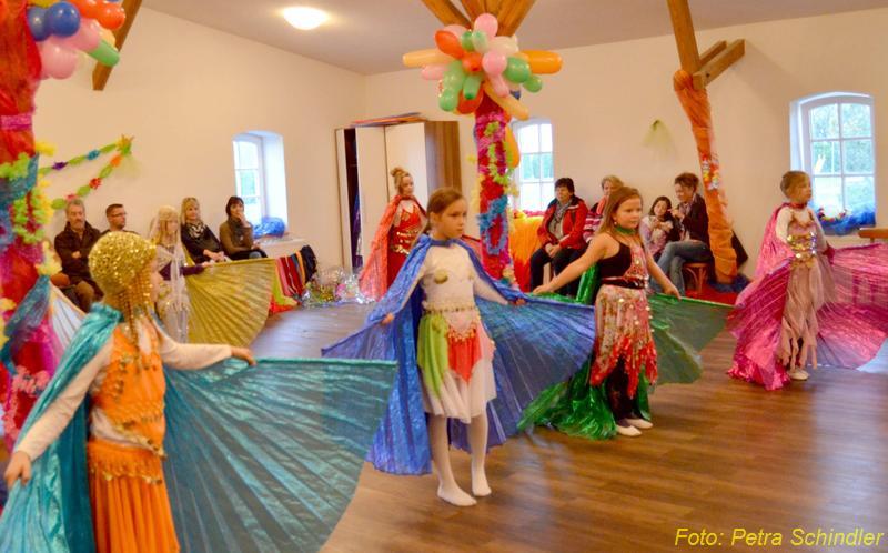 Kindertanzfest in der Bauernscheune 2012