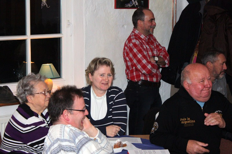 Ostpreußischer Humor mit Hans-Peter Hahn in der Bauernscheune Reddelich, November 2011