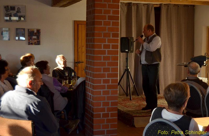 Plattdeutscher Nachmittag in der Reddelicher Bauernscheune, Oktober 2012