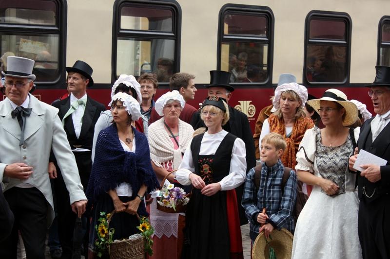 Historischer Umzug 2010 in DBR