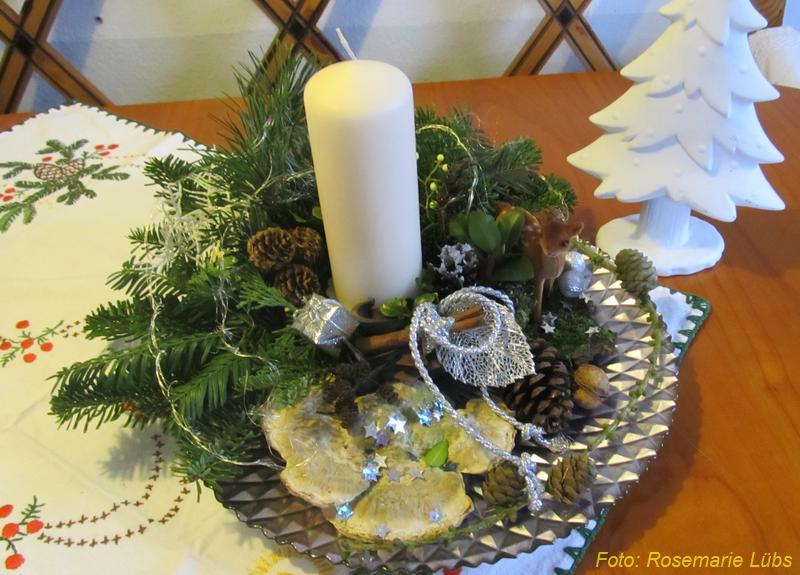 Reddelicher Adventsgestecke 2012