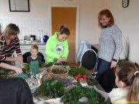 Adventsbasteln 2014 in Reddelich